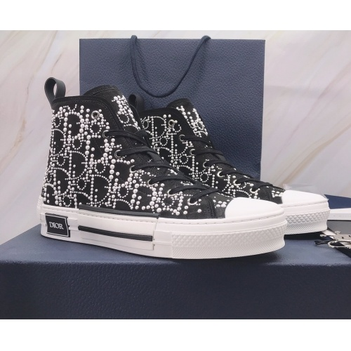 Christian Dior High Tops Shoes For Men #850221