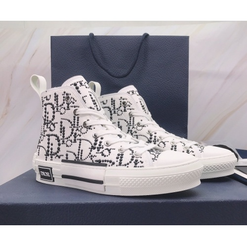 Christian Dior High Tops Shoes For Men #850222