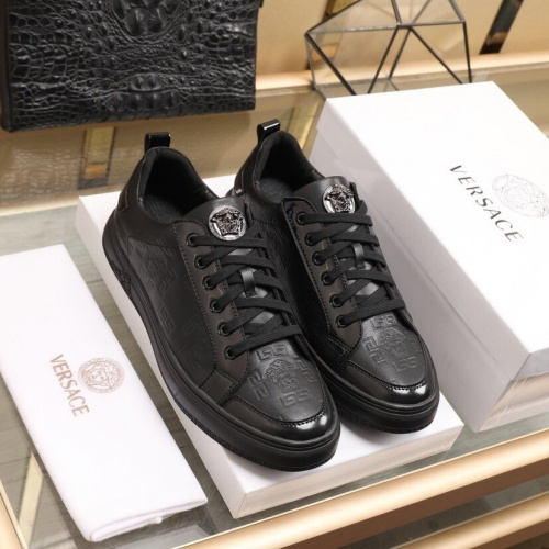Replica Versace Casual Shoes For Men #850388 $88.00 USD for Wholesale