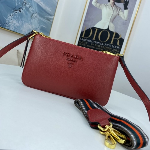 Prada AAA Quality Messeger Bags For Women #850485 $88.00 USD, Wholesale Replica Prada AAA Quality Messeger Bags