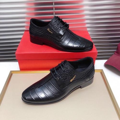 Ferragamo Leather Shoes For Men #850518
