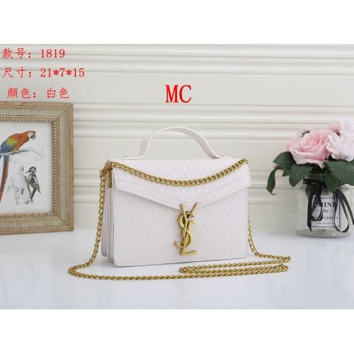 Yves Saint Laurent YSL Fashion Messenger Bags For Women #850581 $24.00 USD, Wholesale Replica Yves Saint Laurent YSL Fashion Messenger Bags