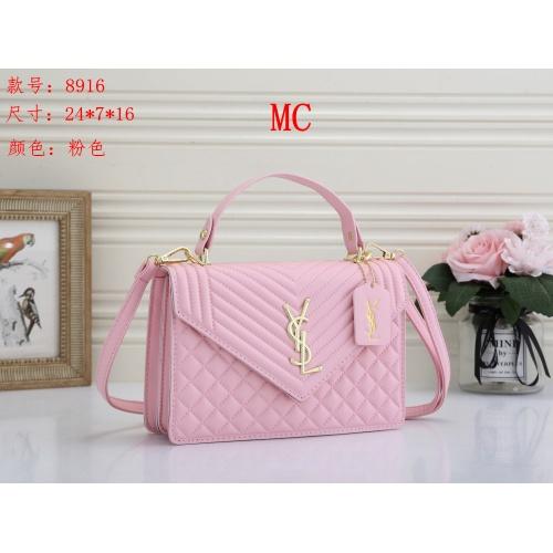 Yves Saint Laurent YSL Fashion Messenger Bags For Women #850584 $24.00 USD, Wholesale Replica Yves Saint Laurent YSL Fashion Messenger Bags