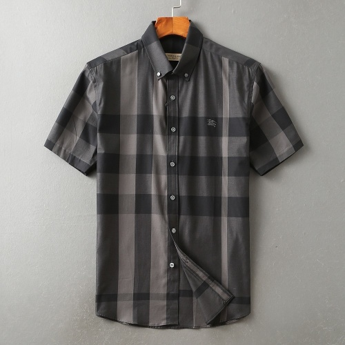 Burberry Shirts Short Sleeved For Men #850599 $36.00 USD, Wholesale Replica Burberry Shirts