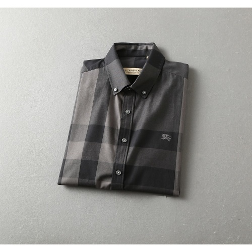 Replica Burberry Shirts Short Sleeved For Men #850599 $36.00 USD for Wholesale