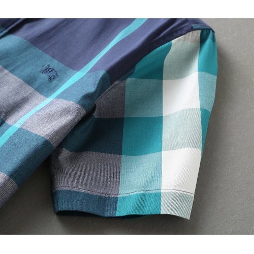 Replica Burberry Shirts Short Sleeved For Men #850600 $36.00 USD for Wholesale