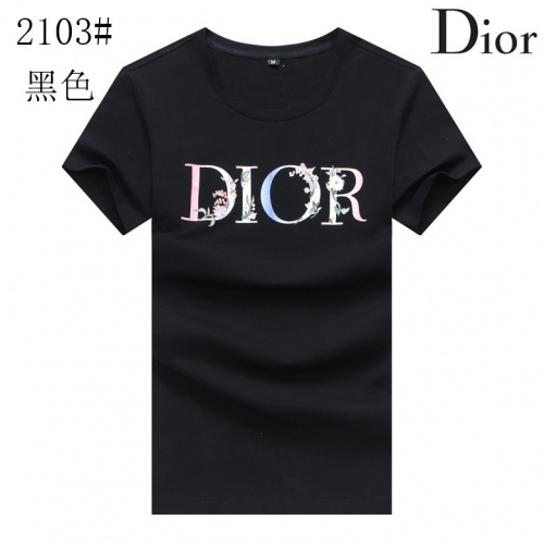 Christian Dior T-Shirts Short Sleeved For Men #850609