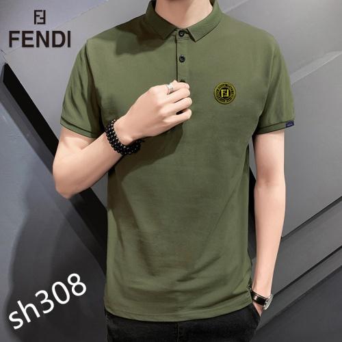 Fendi T-Shirts Short Sleeved For Men #850632