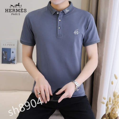 Hermes T-Shirts Short Sleeved For Men #850645