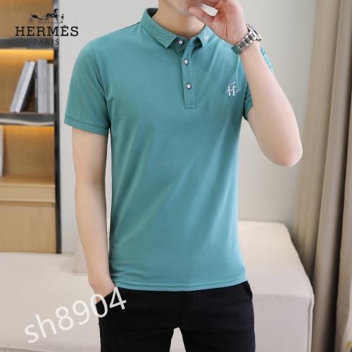 Hermes T-Shirts Short Sleeved For Men #850646