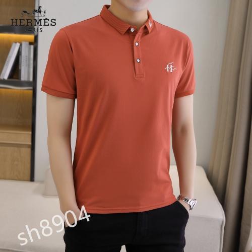 Hermes T-Shirts Short Sleeved For Men #850647