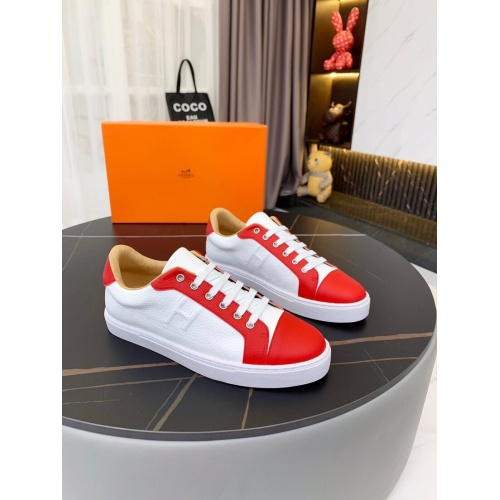 Hermes Casual Shoes For Men #850705 $76.00 USD, Wholesale Replica Hermes Casual Shoes