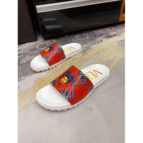 Versace Slippers For Men #850749 $52.00 USD, Wholesale Replica Versace Slippers