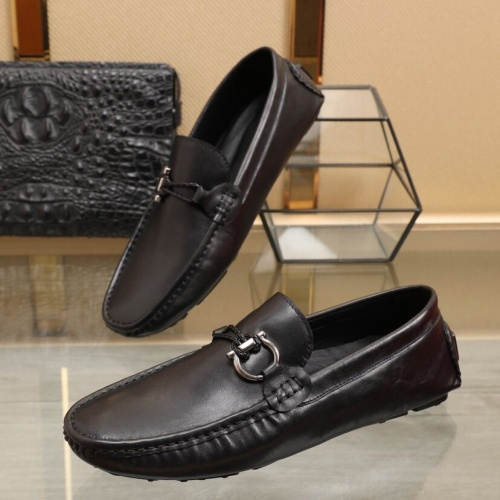 Ferragamo Leather Shoes For Men #850802