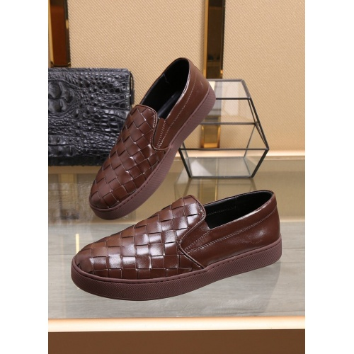 Bottega Veneta BV Leather Shoes For Men #851051