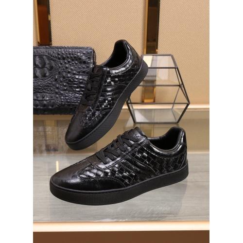 Bottega Veneta BV Leather Shoes For Men #851054