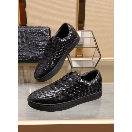 Bottega Veneta BV Leather Shoes For Men #851056