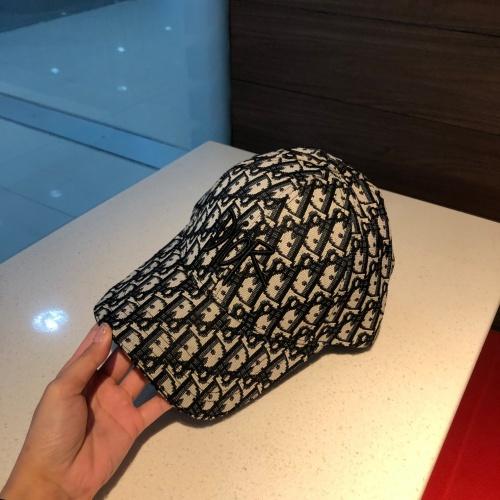 Replica Christian Dior Caps #851107 $32.00 USD for Wholesale