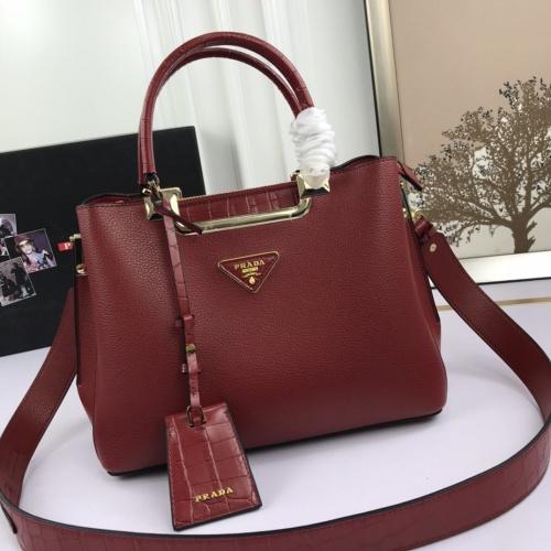 Prada AAA Quality Handbags For Women #851454 $105.00 USD, Wholesale Replica Prada AAA Quality Handbags