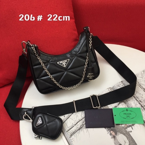 Prada AAA Quality Messeger Bags For Women #851503 $85.00 USD, Wholesale Replica Prada AAA Quality Messeger Bags