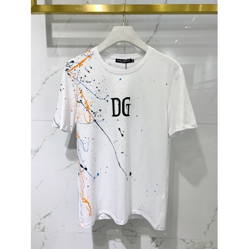 Dolce & Gabbana D&G T-Shirts Short Sleeved For Men #851509
