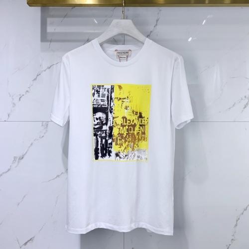 Alexander McQueen T-shirts Short Sleeved For Men #851527