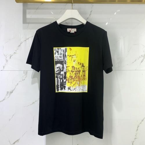Alexander McQueen T-shirts Short Sleeved For Men #851528