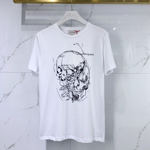 Alexander McQueen T-shirts Short Sleeved For Men #851530