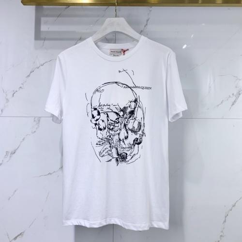 Alexander McQueen T-shirts Short Sleeved For Men #851530