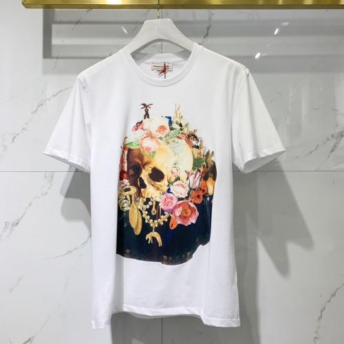 Alexander McQueen T-shirts Short Sleeved For Men #851533