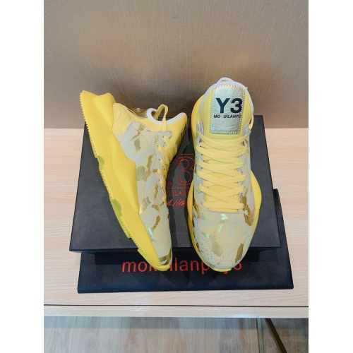 Replica Y-3 Casual Shoes For Men #851587 $82.00 USD for Wholesale