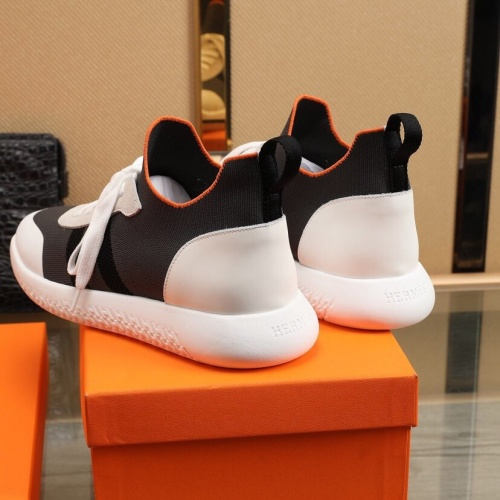 Replica Hermes Casual Shoes For Men #851657 $88.00 USD for Wholesale