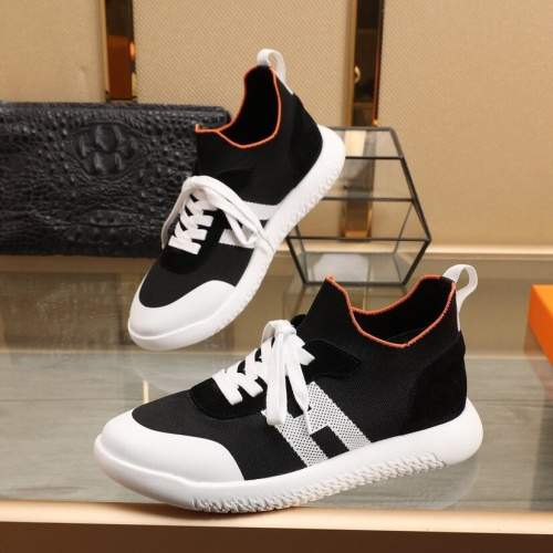 Hermes Casual Shoes For Men #851660 $88.00 USD, Wholesale Replica Hermes Casual Shoes
