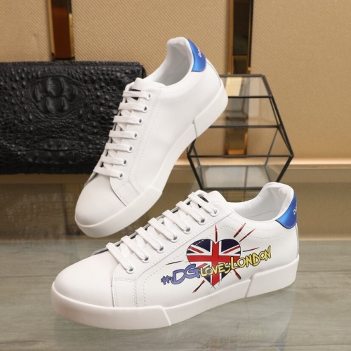 Dolce & Gabbana D&G Casual Shoes For Men #851822