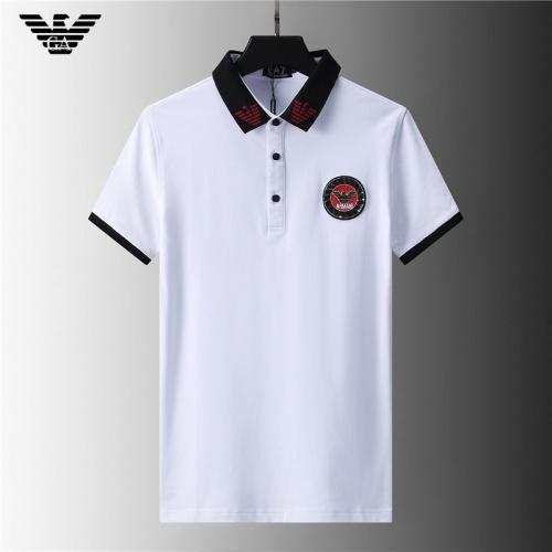 Armani T-Shirts Short Sleeved For Men #852033