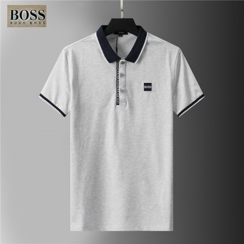 Boss T-Shirts Short Sleeved For Men #852080