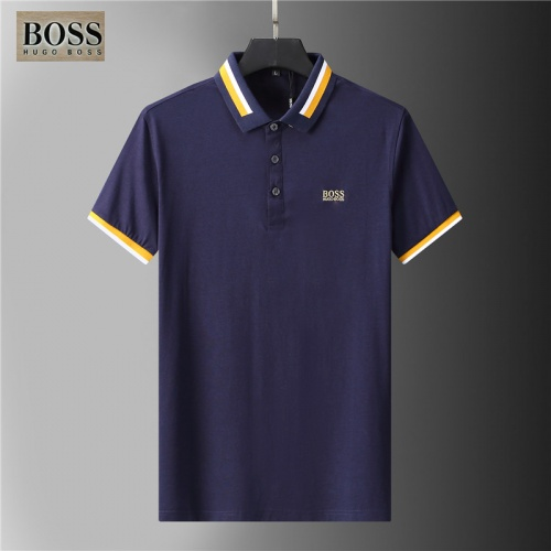 Boss T-Shirts Short Sleeved For Men #852083