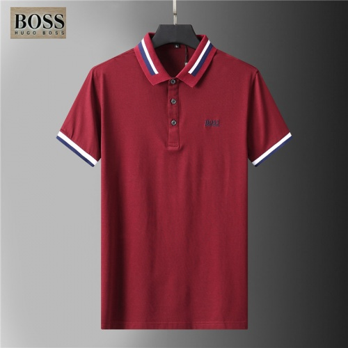Boss T-Shirts Short Sleeved For Men #852084