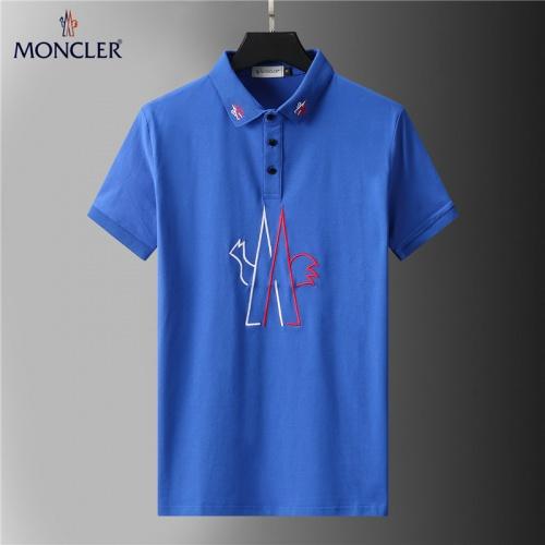 Moncler T-Shirts Short Sleeved For Men #852103