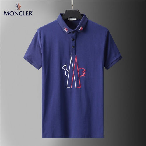 Moncler T-Shirts Short Sleeved For Men #852104
