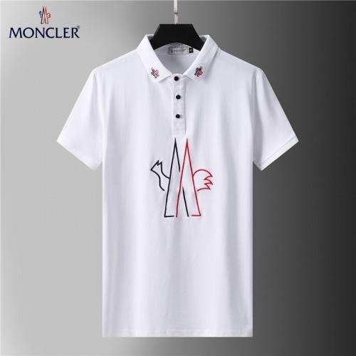 Moncler T-Shirts Short Sleeved For Men #852107