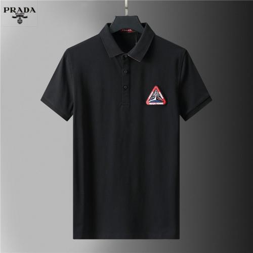 Prada T-Shirts Short Sleeved For Men #852119