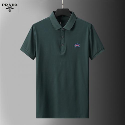 Prada T-Shirts Short Sleeved For Men #852120