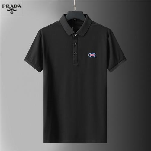 Prada T-Shirts Short Sleeved For Men #852121 $38.00 USD, Wholesale Replica Prada T-Shirts