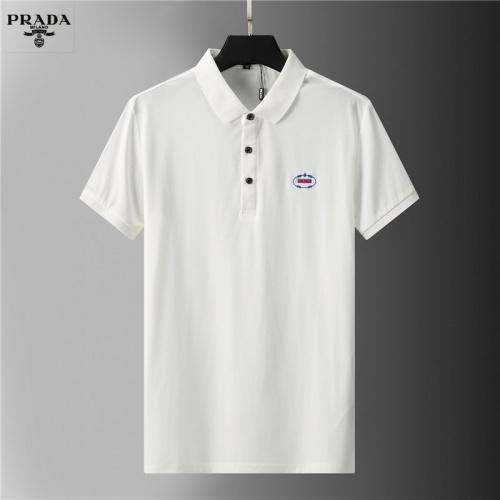 Prada T-Shirts Short Sleeved For Men #852122