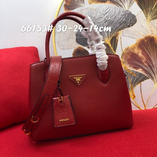 Prada AAA Quality Handbags For Women #852180