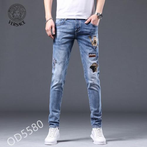 Versace Jeans For Men #852234 $48.00 USD, Wholesale Replica Versace Jeans