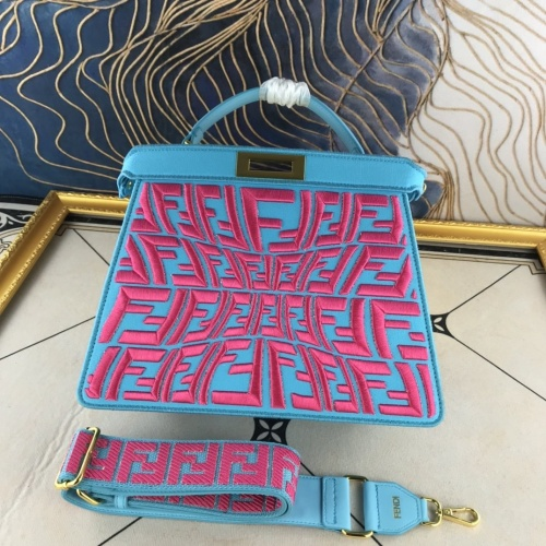 Fendi AAA Quality Handbags For Women #852250 $132.00 USD, Wholesale Replica Fendi AAA Quality Handbags