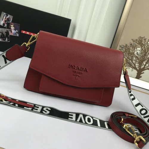 Prada AAA Quality Messeger Bags For Women #852319