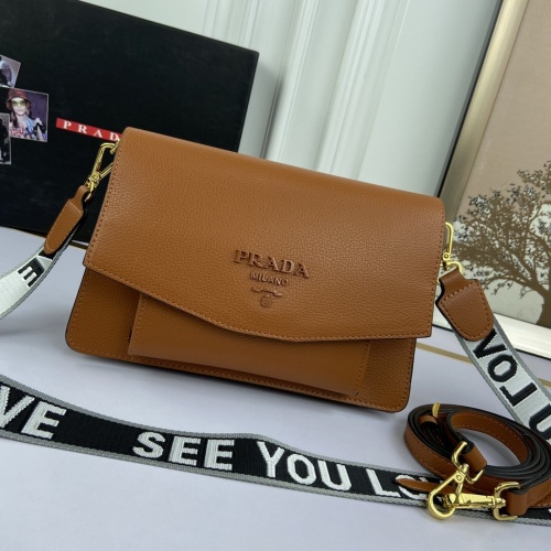 Prada AAA Quality Messeger Bags For Women #852328
